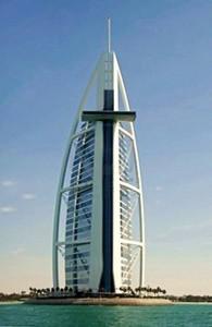 Hatalmas kereszt Dubaiban