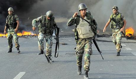 Három libanoni katonát lőttek le a szíriai határon: Oroszország Hangja