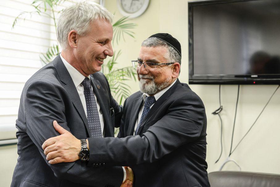 Izrael és Magyarország vallási kapcsolatainak erősítéséről tárgyalt Soltész Miklós Jeruzsálemben